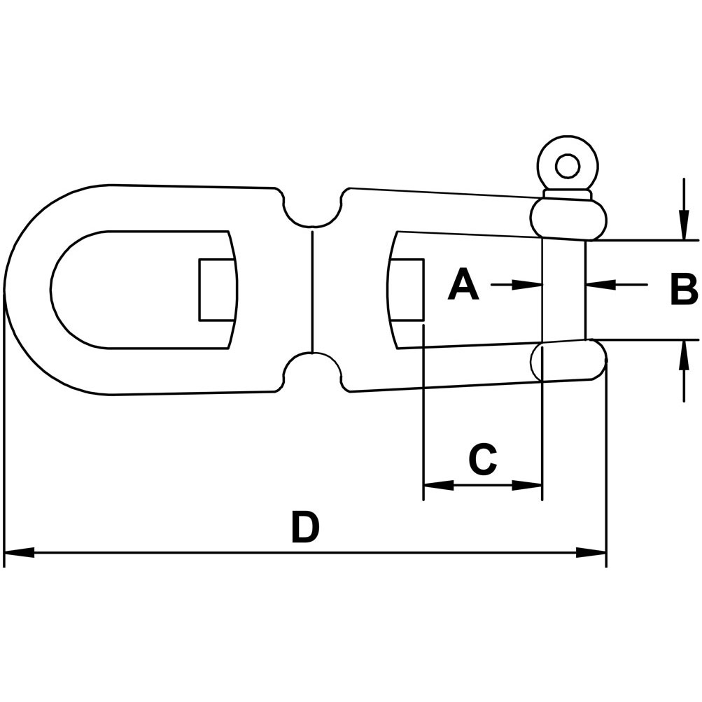 five-eighths-inch-stainless-jaw-jaw-swivel-specification-diagram
