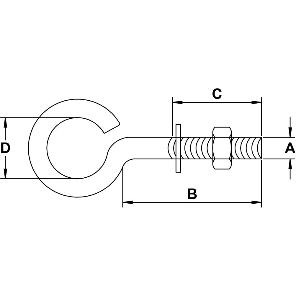 three-eighths-inch-x-five-inch-stainless-plain-eye-bolt-specification-diagram
