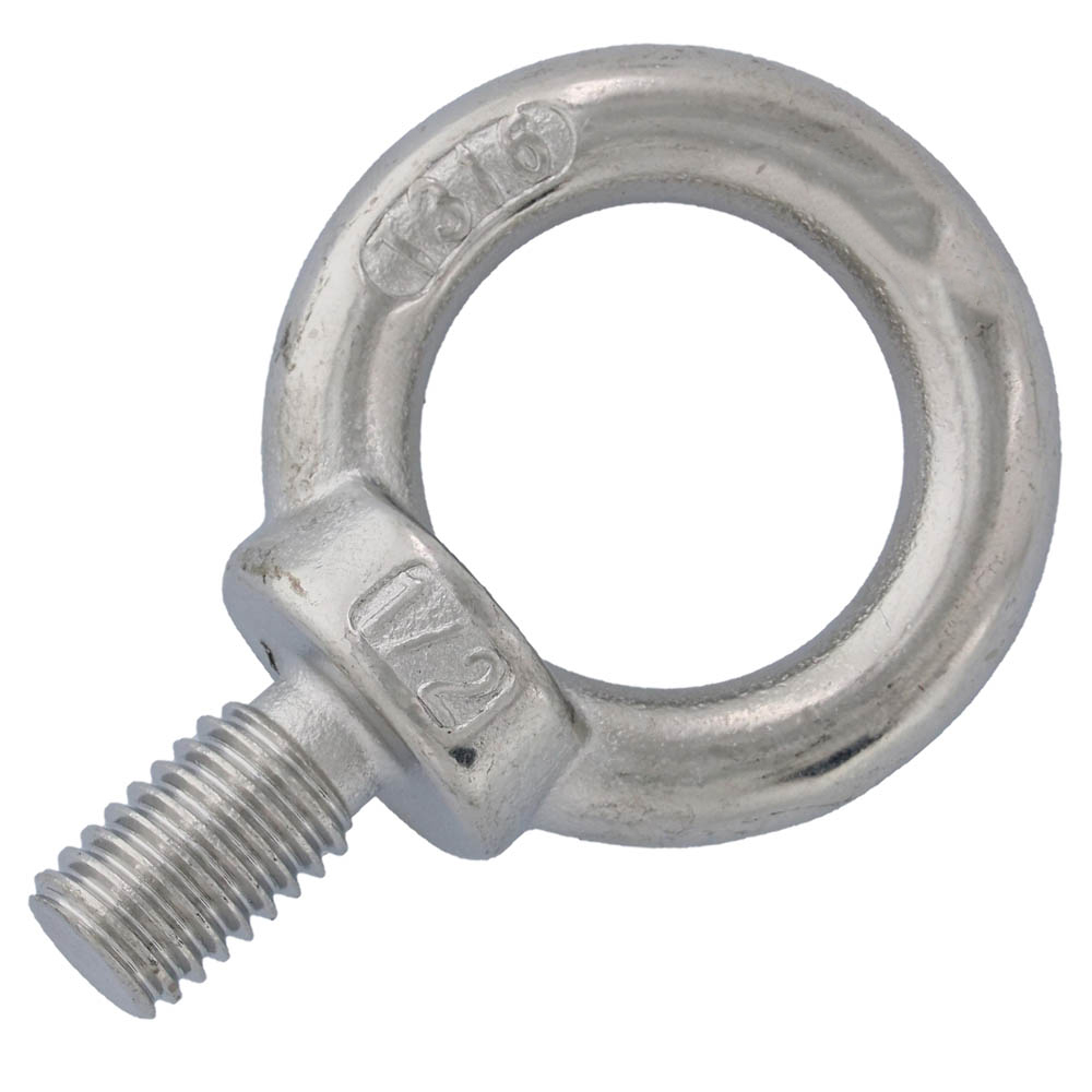 1 2 Quot X 7 8 Quot Machinery Eye Bolt Stainless Steel