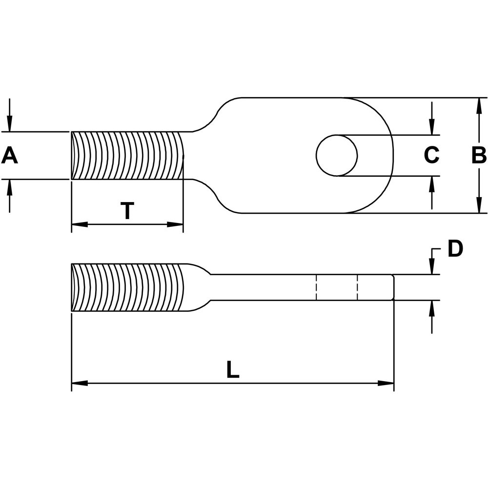 five-sixteenths-inch-x-three-eighths-inch-stainless-eye-tab-bolt-specification-diagram
