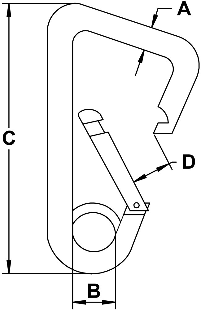 seven-sixteenths-inch-stainless-snap-link-eyelet-style-two-specification-diagram