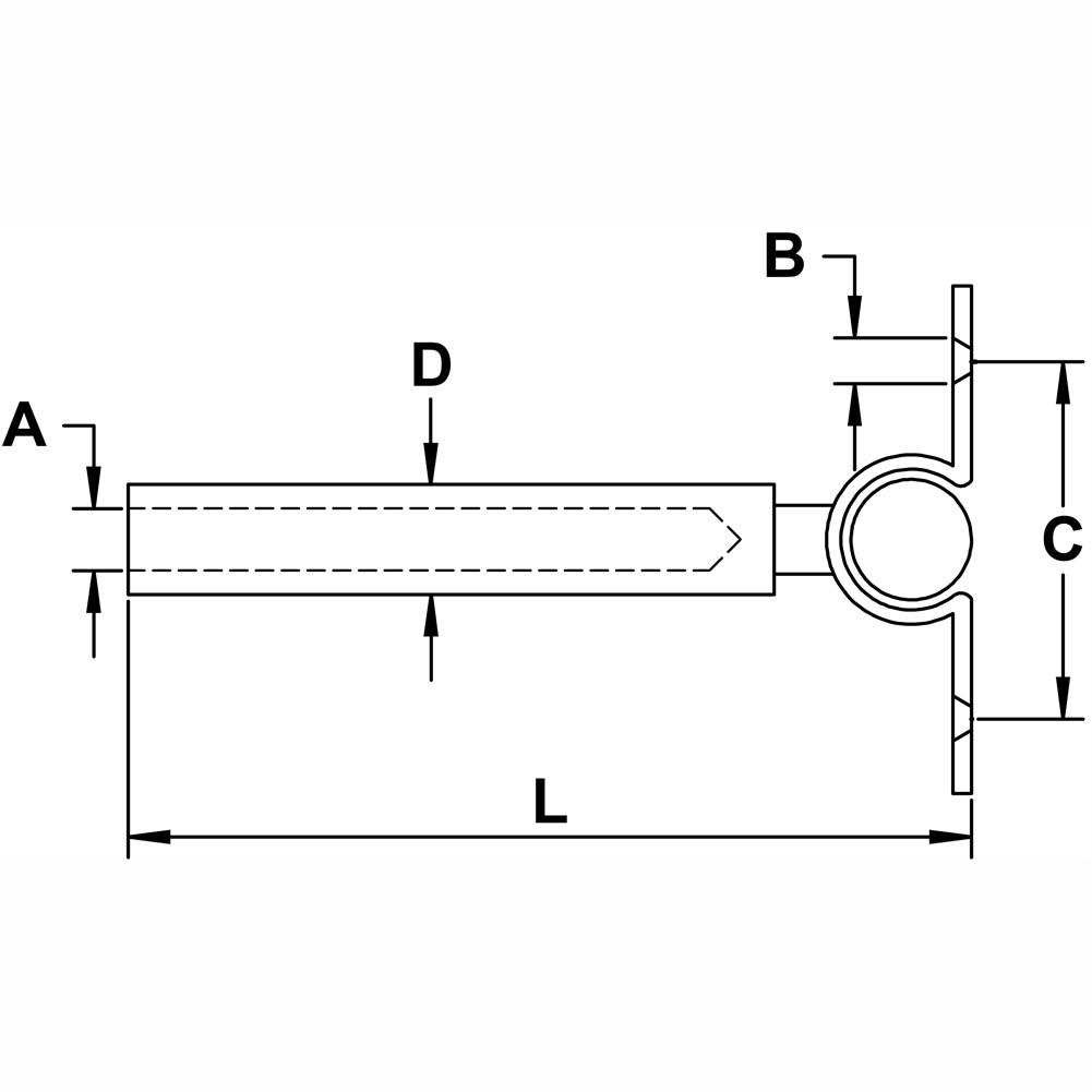 Type 316 Stainless Steel Cable Railing Deck Toggle Diagram