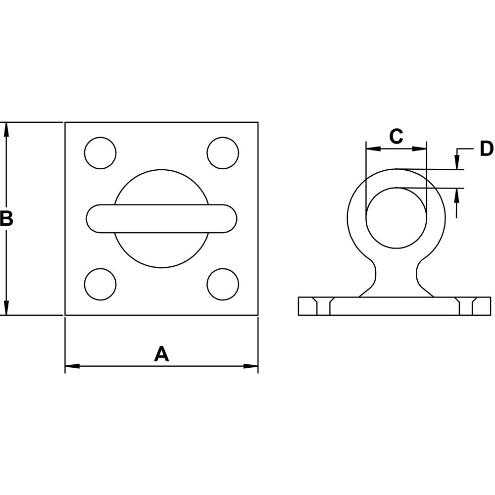 three-sixteenths-inch-stainless-pad-eye-square-swivel-specification-diagram