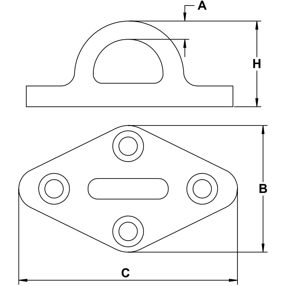 five-sixteenths-inch-stainless-pad-eye-diamond-specification-diagram