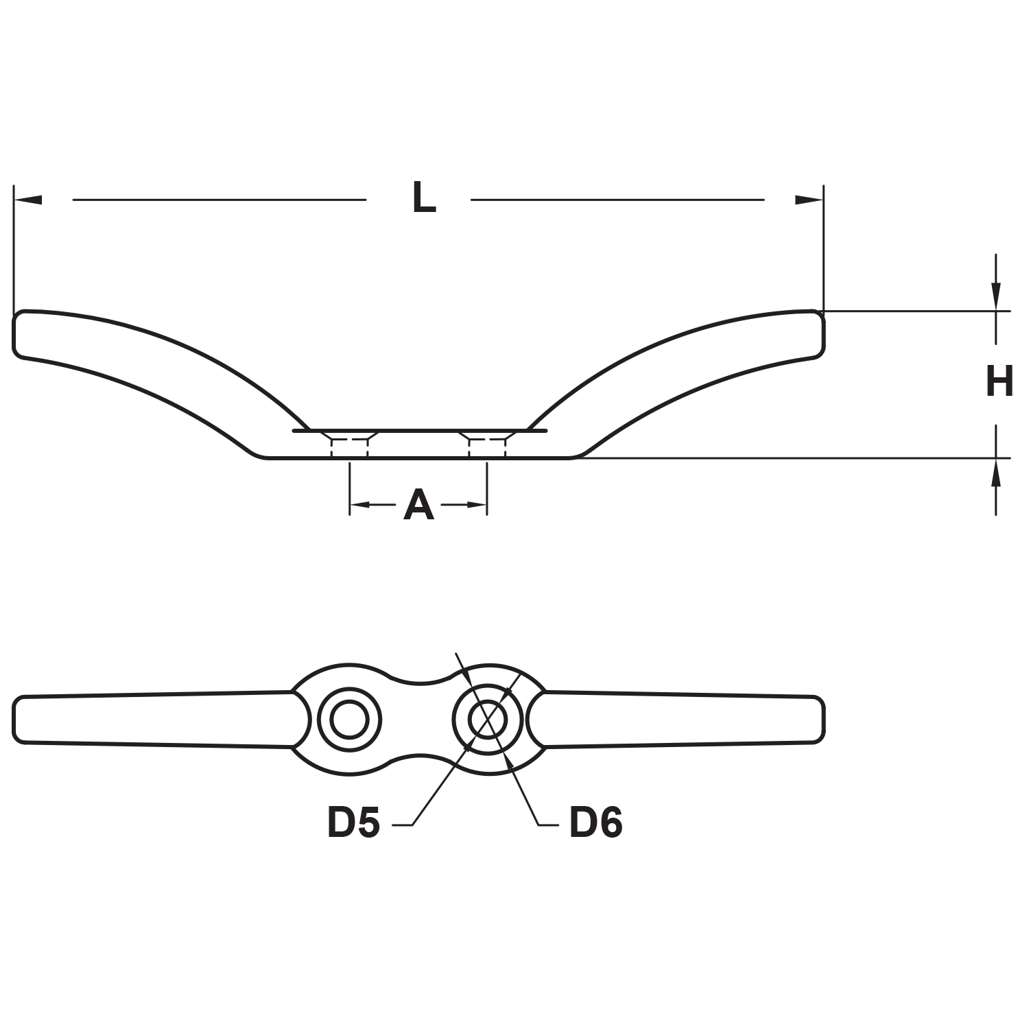 4-3-8-stainless-steel-flag-pole-cleat-diagram