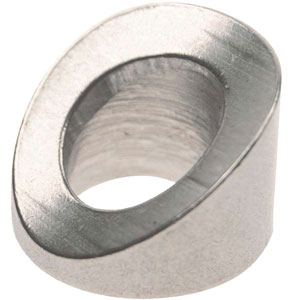 Grade 316 Stainless Steel Angle Washers for Round Posts