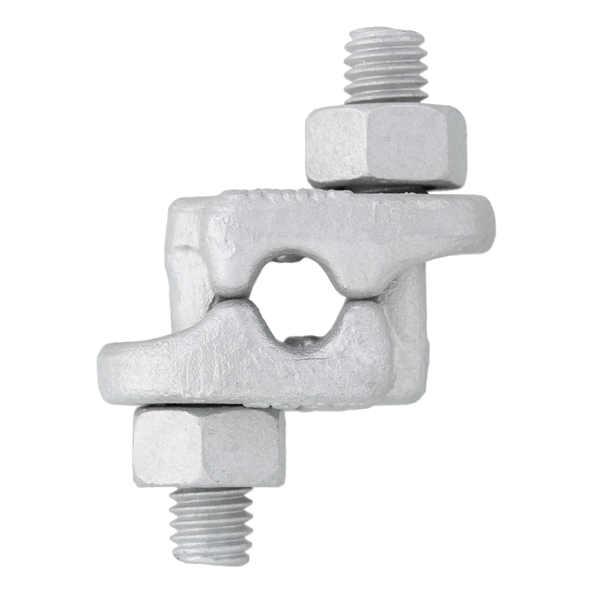 "3/8"" Hot Dip Galvanized Fist Grip Clip Image 1"