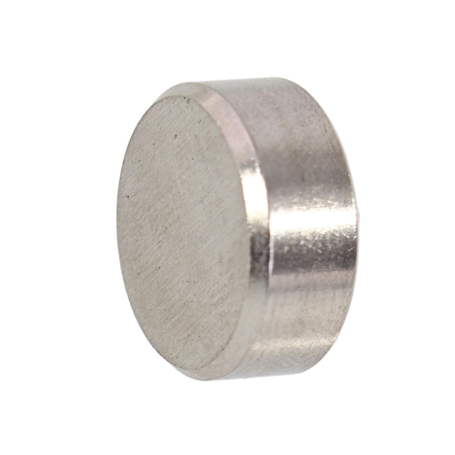 Quot type stainless steel end cap to use as nut