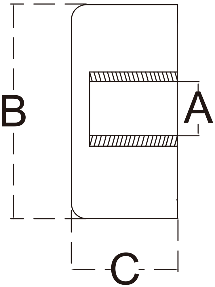 quarter-inch-stainless-end-cap-specification-diagram