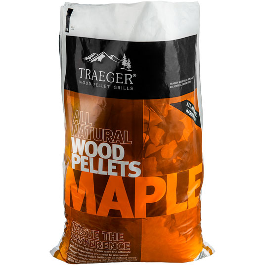 Traeger Maple BBQ Hardwood Pellets Image 1