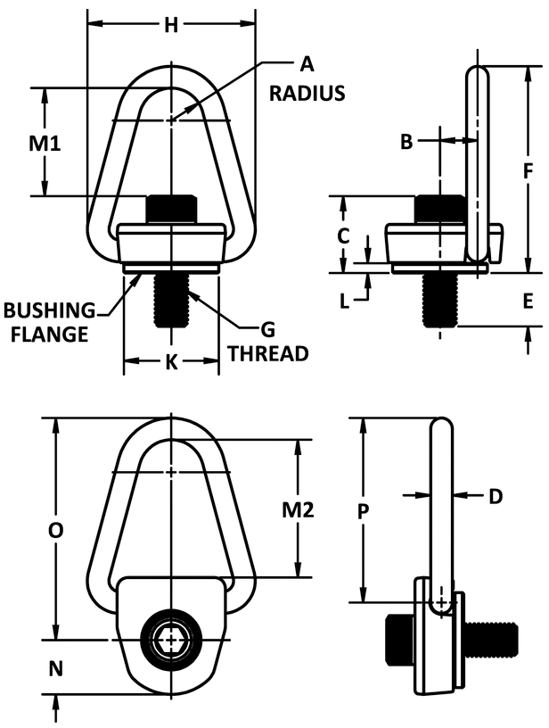 1-2-13-x-0-98-2500-lb-Heavy-Duty-Side-Pull-Hoist-Ring-specification-diagram