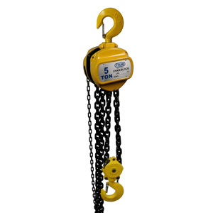 5 Ton X 20 Foot Lift, Tyler Tool Chain Hoist