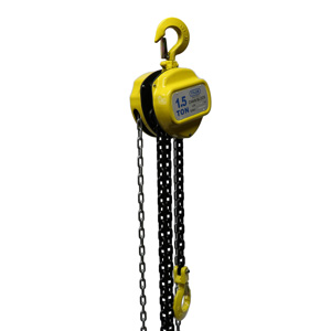 1.5 Ton X 10 Foot Lift, Tyler Tool Chain Hoist