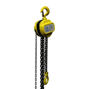 1.5 Ton X 20 Foot Lift, Tyler Tool Chain Hoist