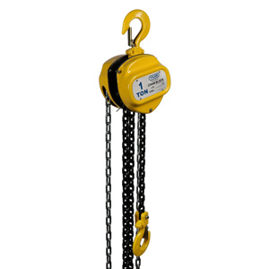 1 Ton X 10 Foot Lift, Tyler Tool Chain Hoist
