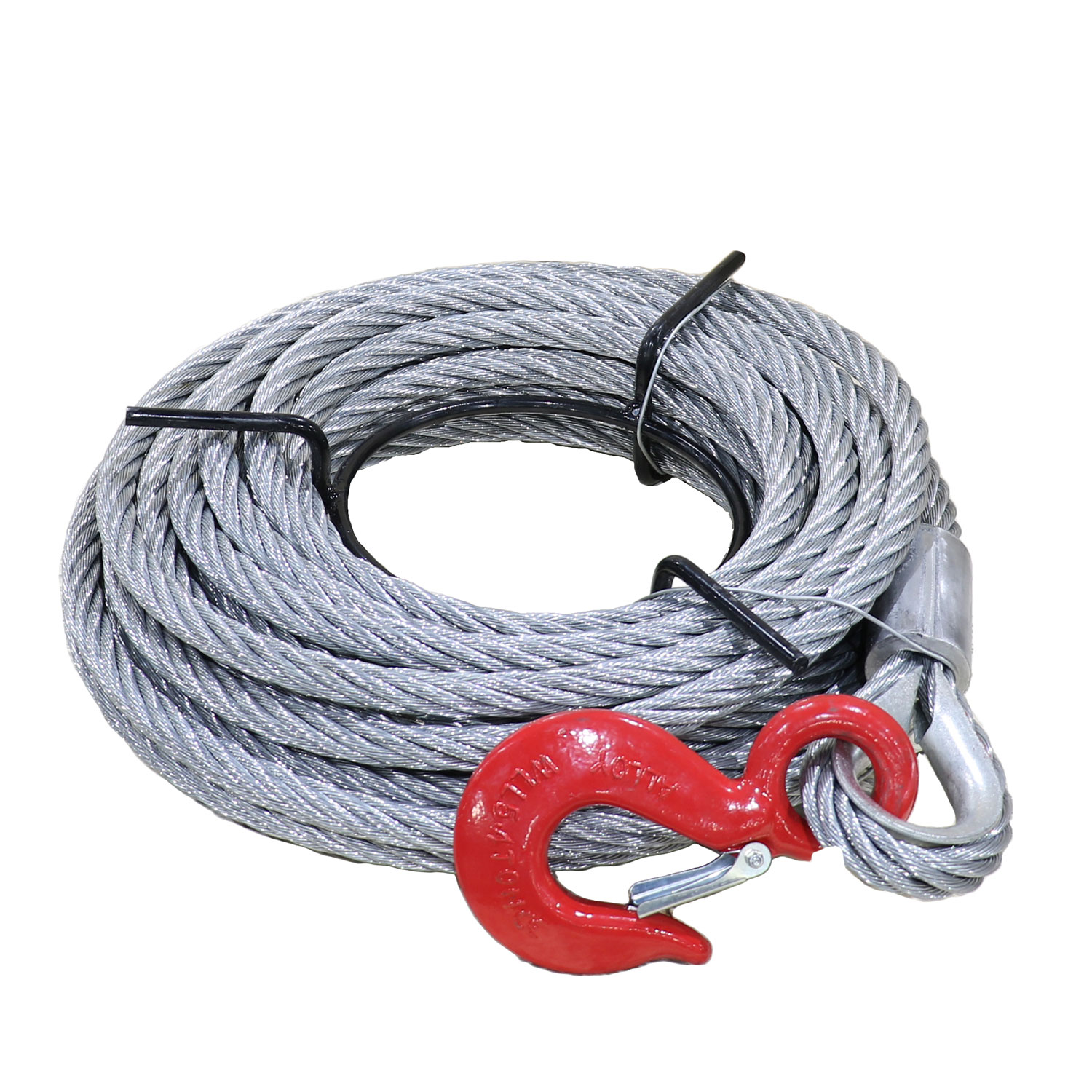 Cable for 11905 lbs Capacity, Tyler Tool Aluminum Wire Rope Winch