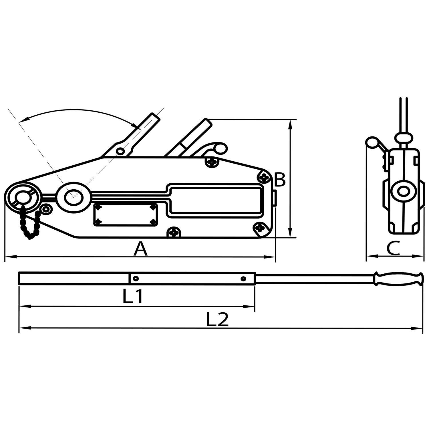 Tyler Tool Wire Rope Winch Diagram