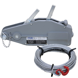 Manual Wire Rope Winches & Cables