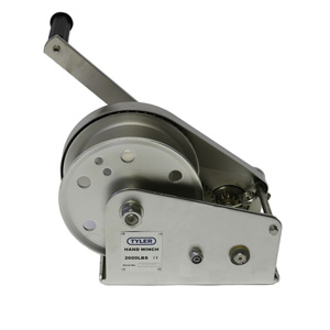 2600 lb WLL Tyler Tool Stainless Steel Hand Winch