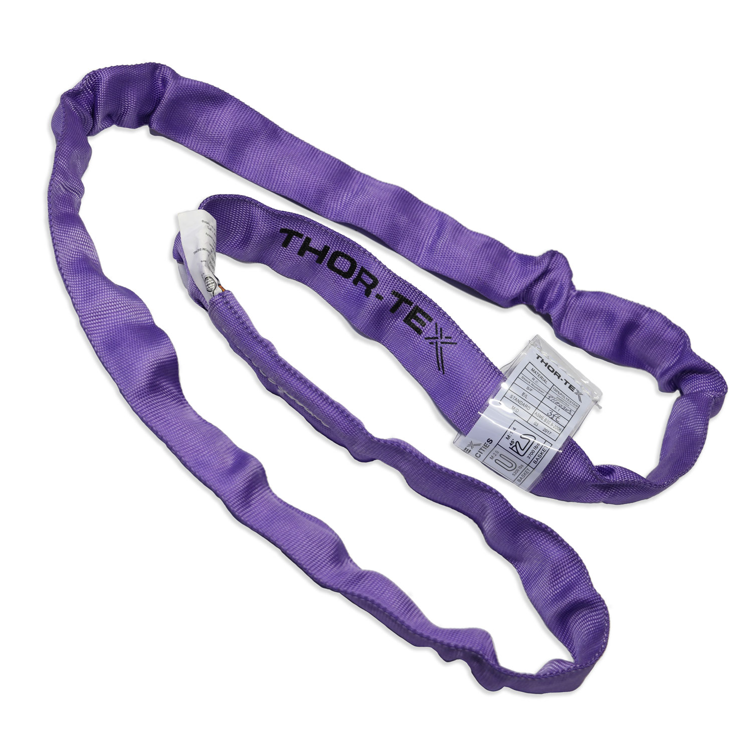 3' X 2600 lbs. Capacity Polyester Round Sling