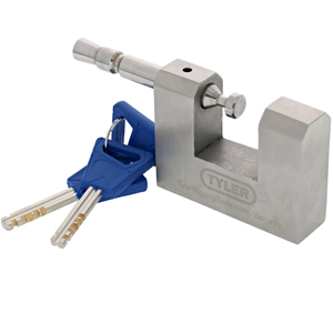 Tyler Tool Stainless Steel High Security Shutter Lock