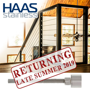 Haas Stainless Cable Rail System