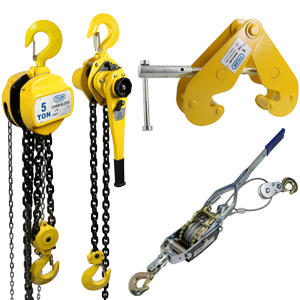 Hoists, Pullers, & Grips