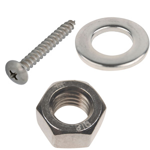 Stainless U-Bolts, Screws, Nuts & Washers