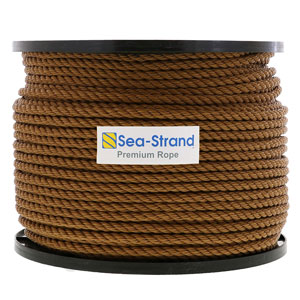 Polypropylene Tan 3-Strand Rope