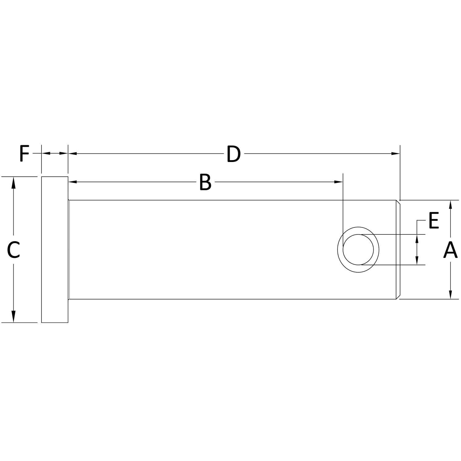10-x-32-Stainless-Steel-Clevis-Pin-diagram