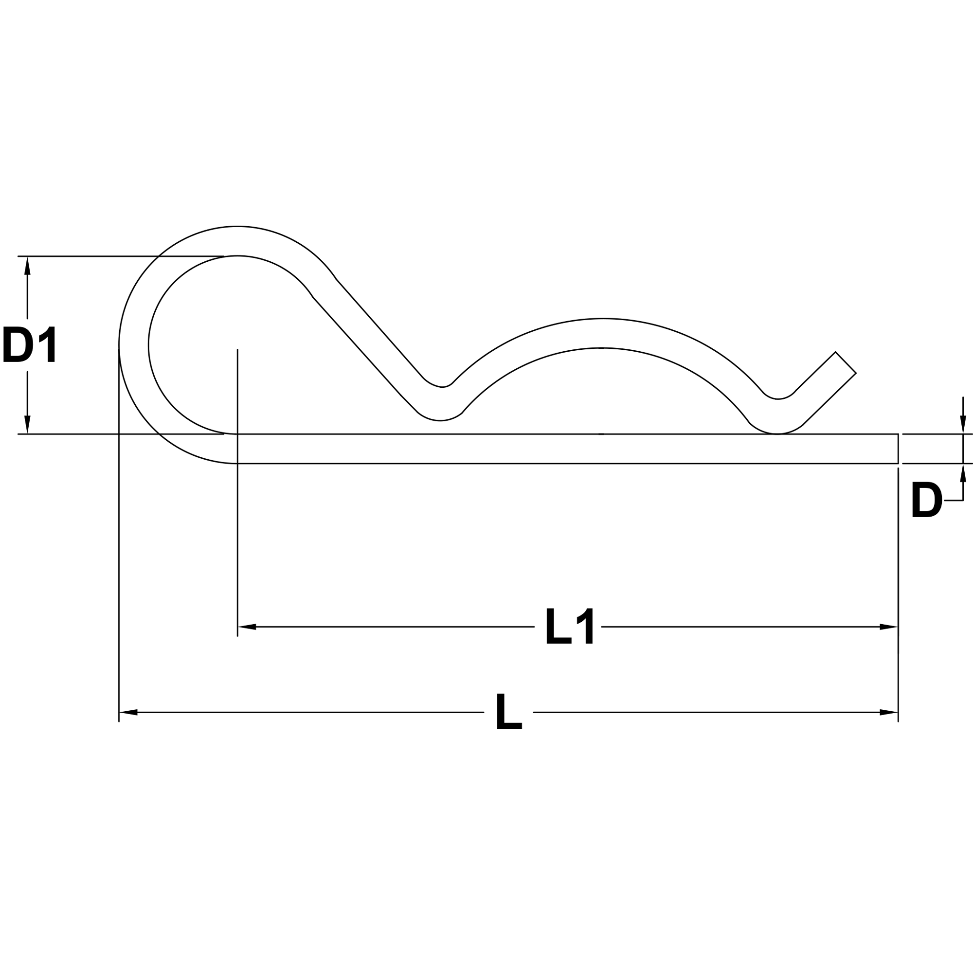 6mm-Stainless-Steel-Hairpin-Cotter-diagram