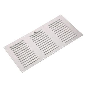 Stainless Steel Rectangular Vent Plate, Style 1274