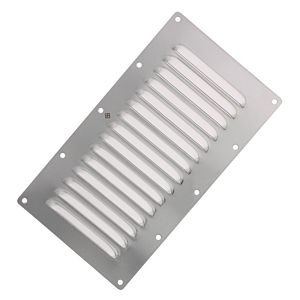 Stainless Steel Rectangular Vent Plate, Style 1277