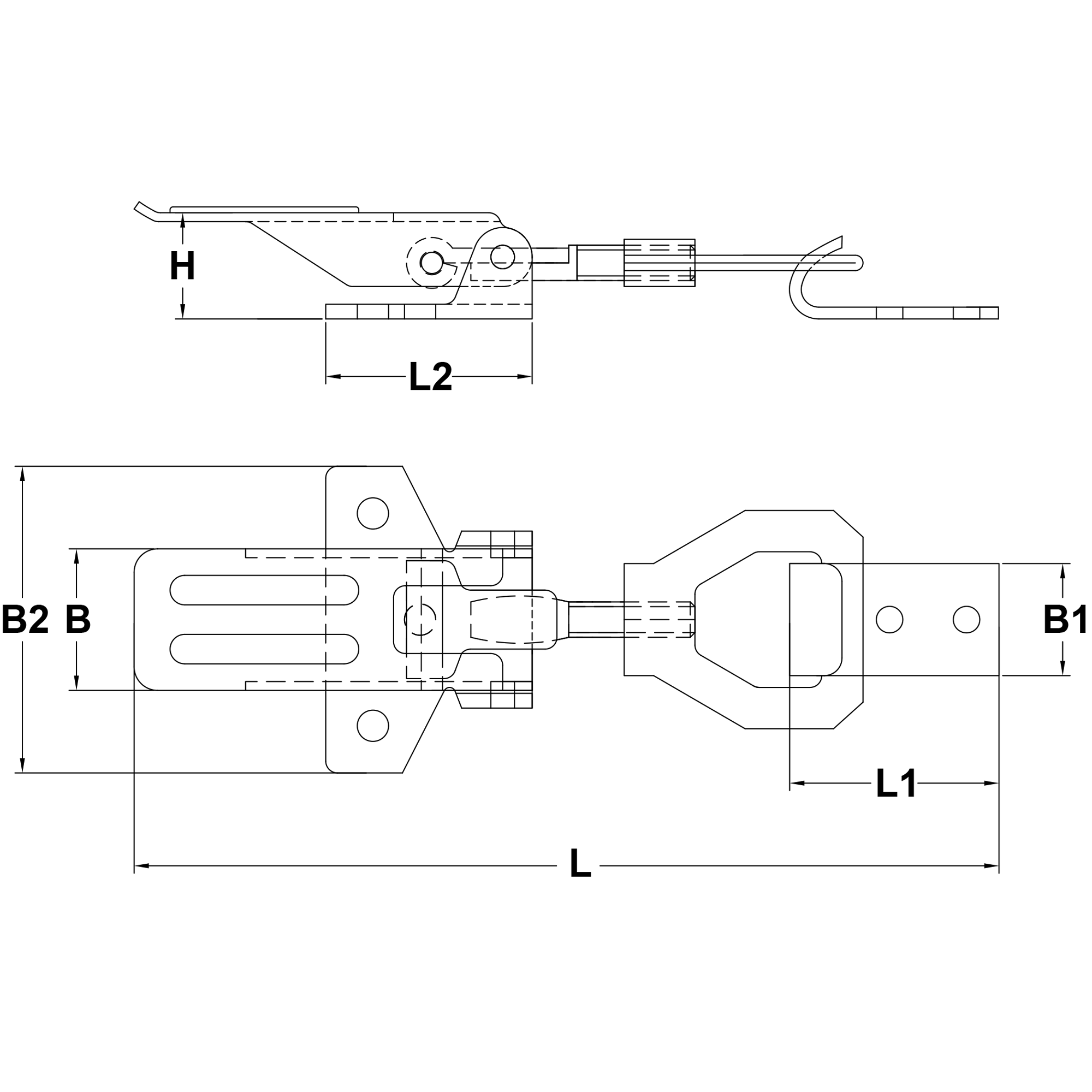 Stainless-Steel-Bailing-Latch-Type-M