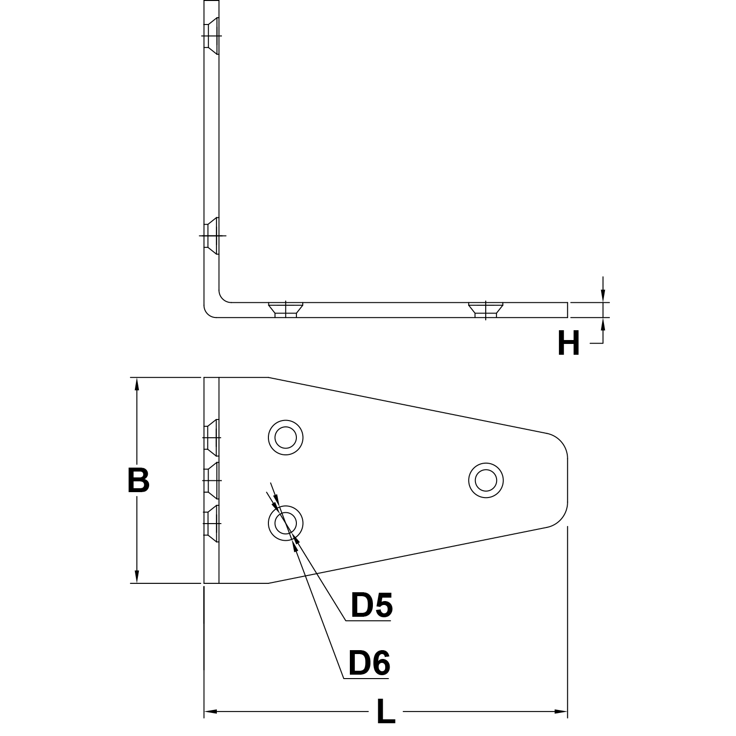 56mm-Stainless-Steel-Angle-Bracket-diagram