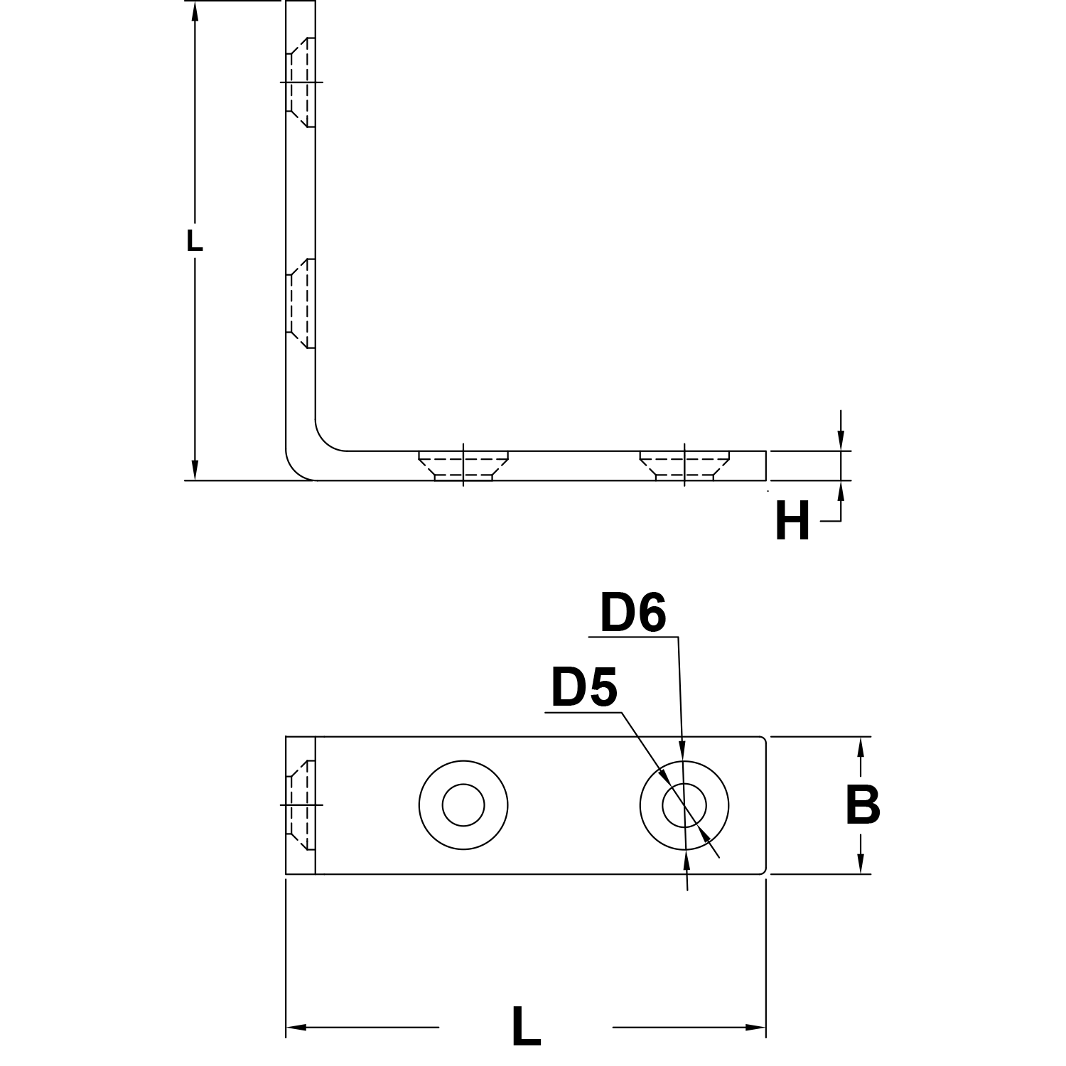 31mm-Stainless-Steel-Angle-Bracket-diagram