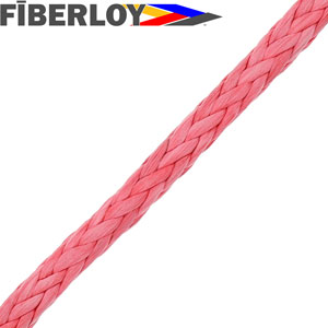 Fiberloy Red 12-Strand Rope