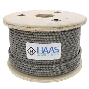 Type 316 7x19 Stainless Cable