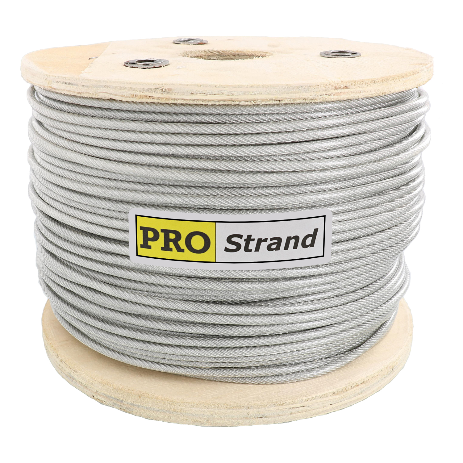 7 x 19 Type 304 Vinyl Coated Stainless Steel Cable