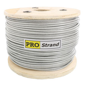 7x19 Vinyl Coated Stainless Steel Cable