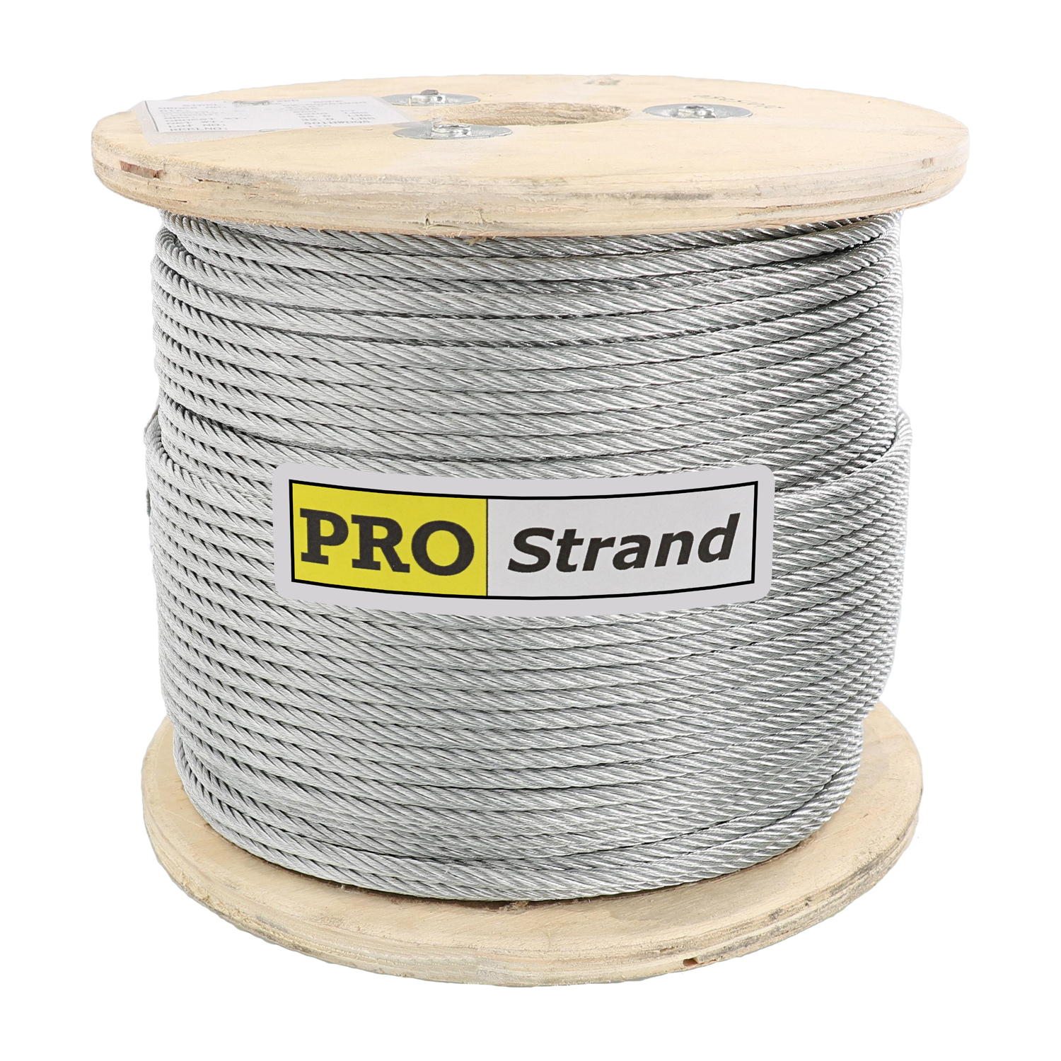 3⁄16 inch, 7 x 19 Galvanized Cable