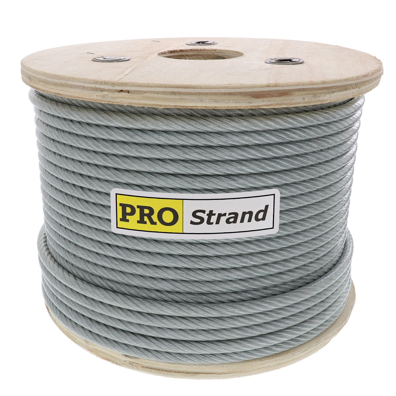 3⁄16 inch, 7 x 19 Vinyl Coated Galvanized Cable