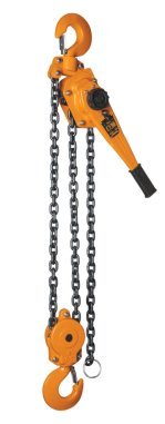 6 ton X 20 Foot Lift, Magna Lifting Lever Chain Hoist Image 1