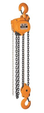 5 ton X 20 Foot Lift, Magna Lifting Chain Hoist Image 1