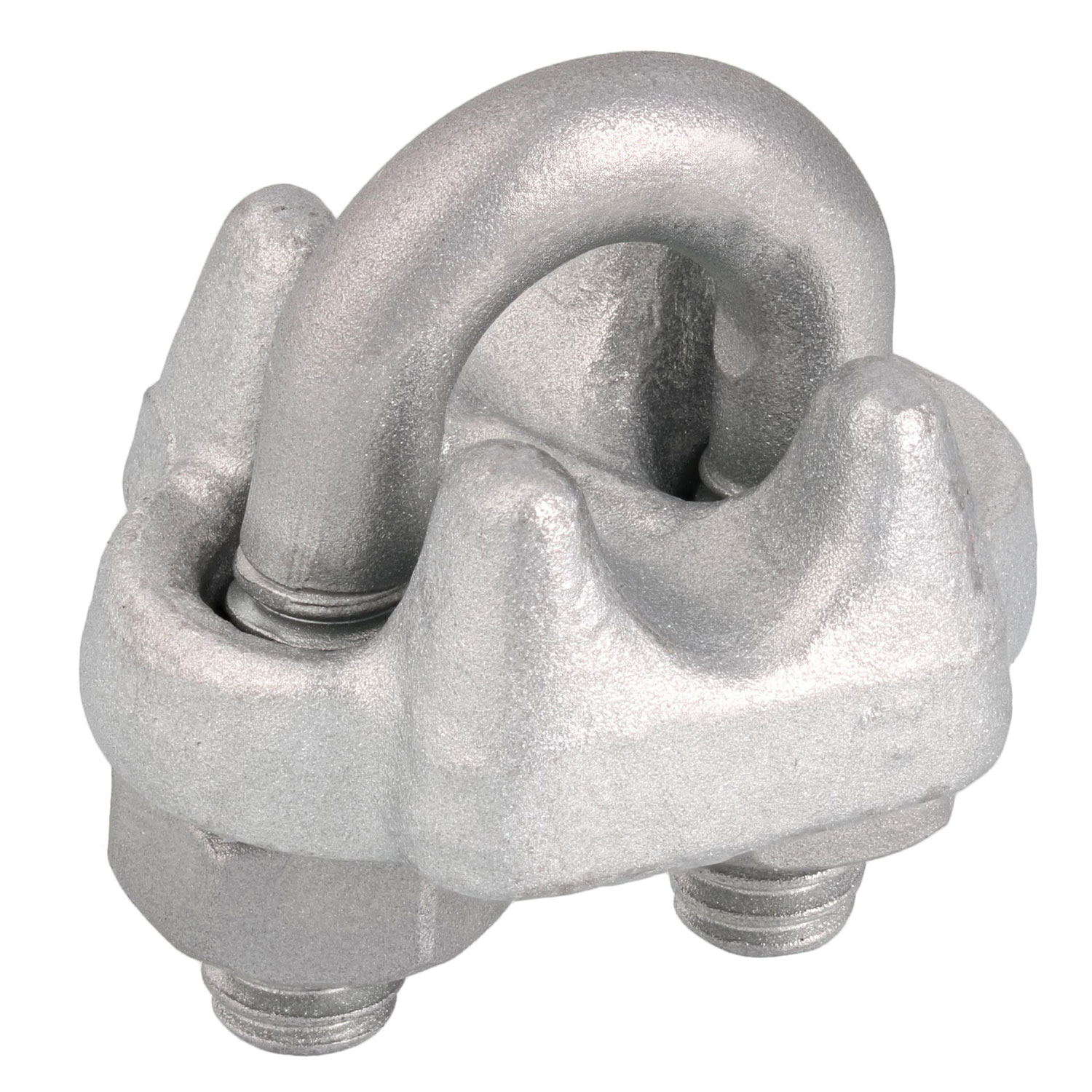 "3/16"" Drop Forged Wire Rope Clip Image 1"