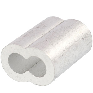 Aluminum Hour Glass Sleeves