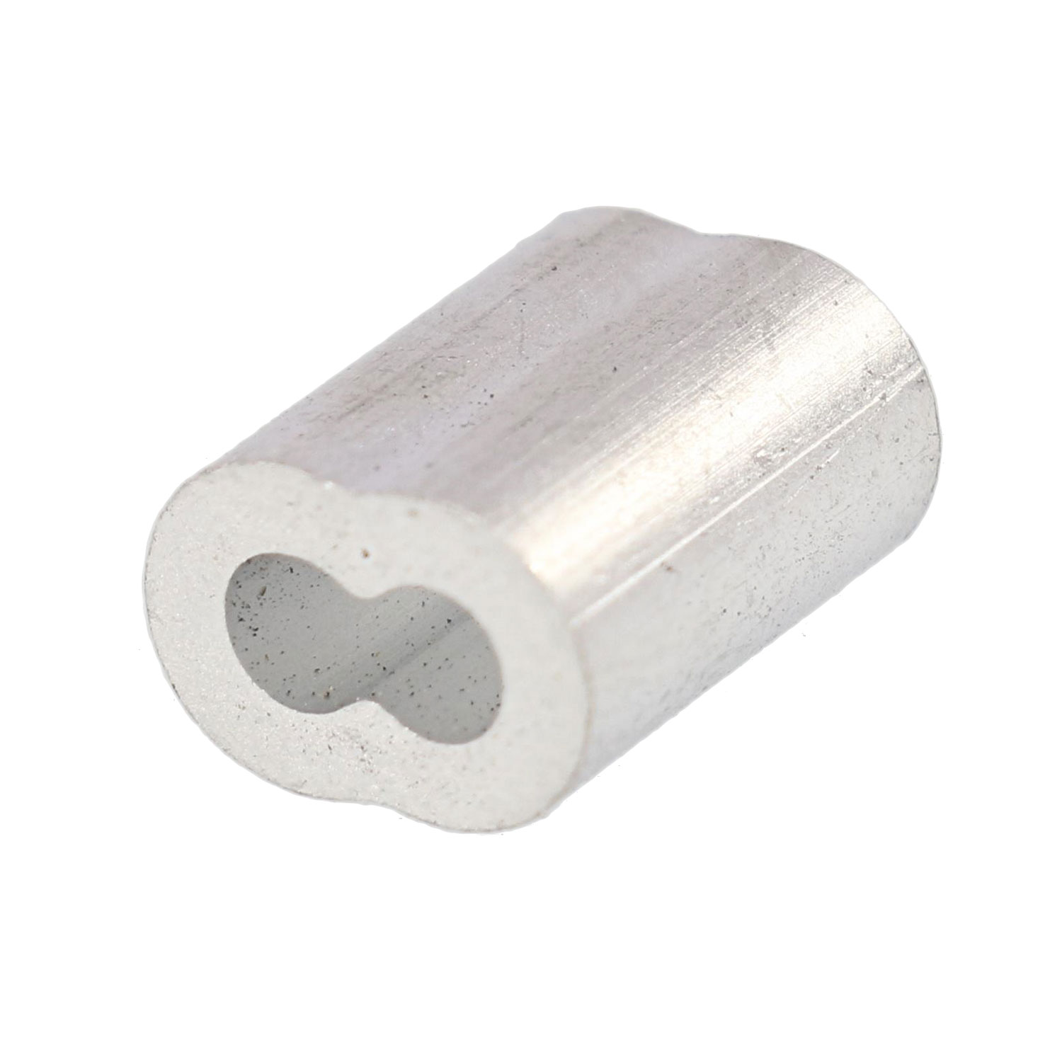 "3/32"" Aluminum Sleeve (Bag Qty. of 100) Image 1"