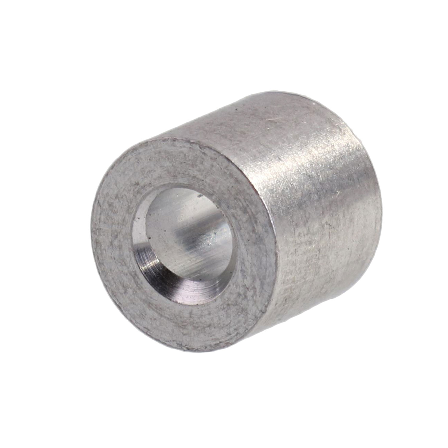 "1/8"" Aluminum Button Stop (Bag Qty. of 100) Image 1"