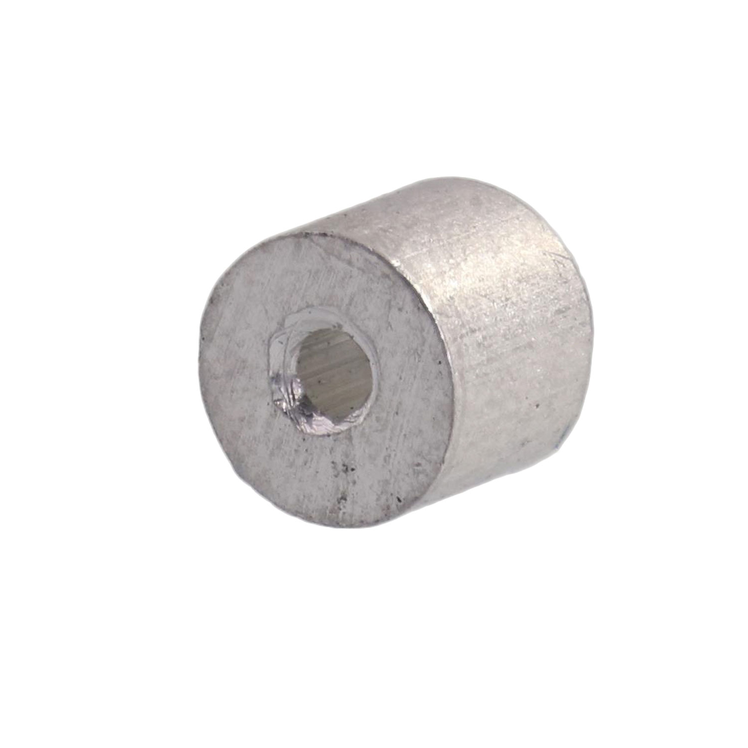 "1/16"" Aluminum Button Stop (Bag Qty. of 100) Image 1"