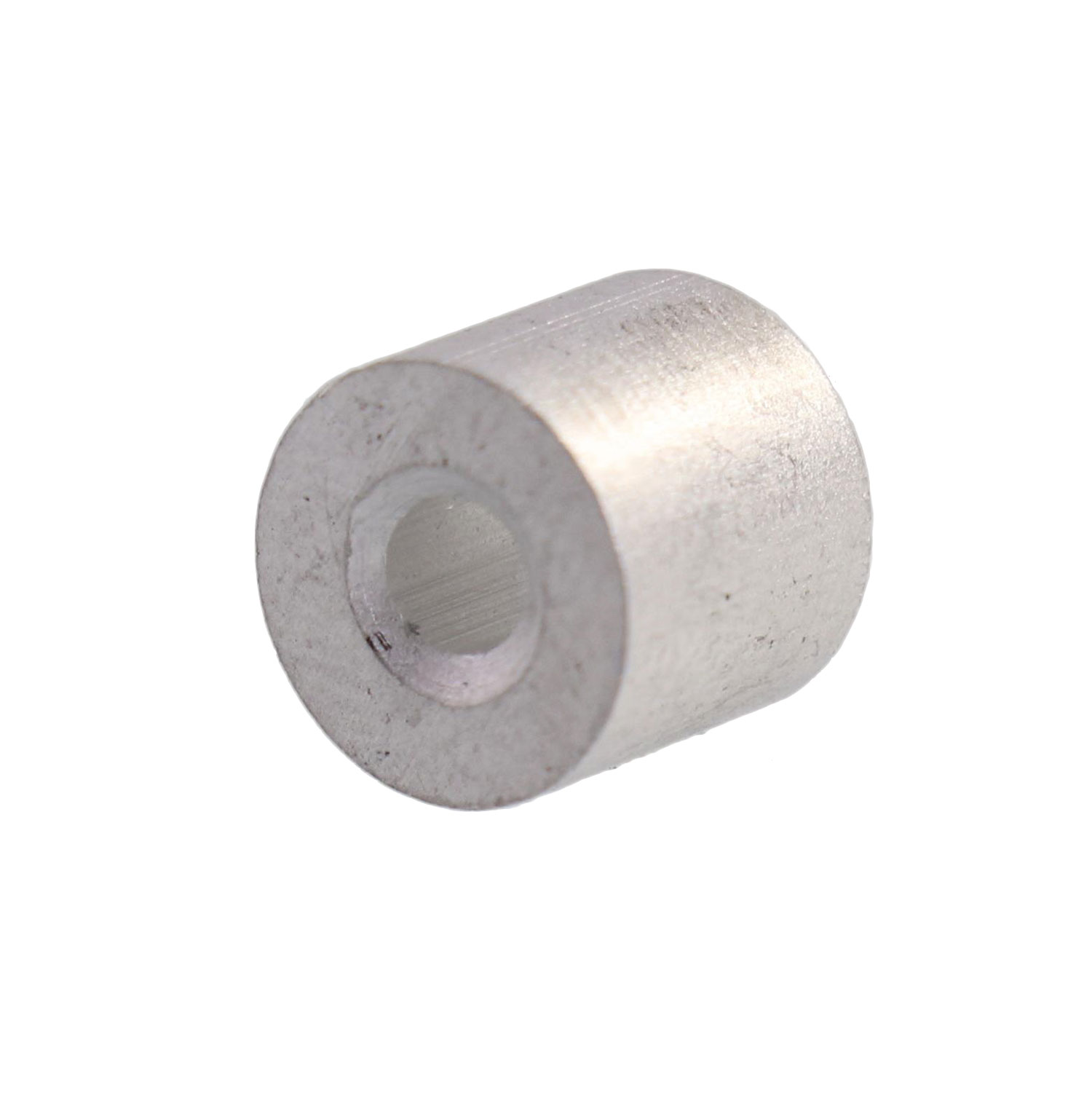 "3/32"" Aluminum Button Stop (Bag Qty. of 100) Image 1"